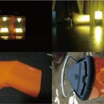 コールマンのミレニアにオレンジフィルムを貼って無理矢理電球色に変えちゃうという力技DIY