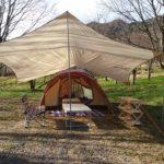 大分県のスノーピーク奥日田へ。(12月3~4日)オートキャンプ