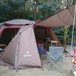 岡県の夢たちばなビレッジへ。(2月11~12日)オートキャンプ