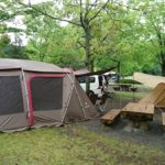大分県の城ヶ原オートキャンプ場へ。(5月4日~6日)1日目~雨男vs晴れ女~