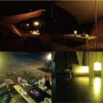 LEDランタンの青白っぽい光をオレンジフィルムで暖色にする力技DIYの使用後感想