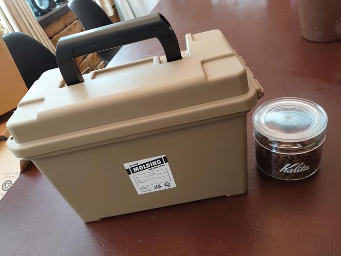 ミリタリーで無骨カッコいい!MOLDINGのアーモツールBOXに珈琲システムを組んでみた!