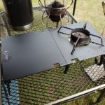 ST-310の遮熱板テーブル、ZEN Campsがマットブラックで無骨カッコいい!!